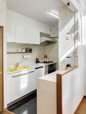 狭いキッチンを楽しいキッチンに!キッチン