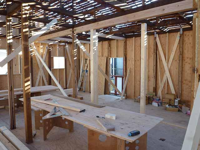 木造耐震補強工事
