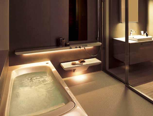 出典:TOTO浴室「シンラ」  こん