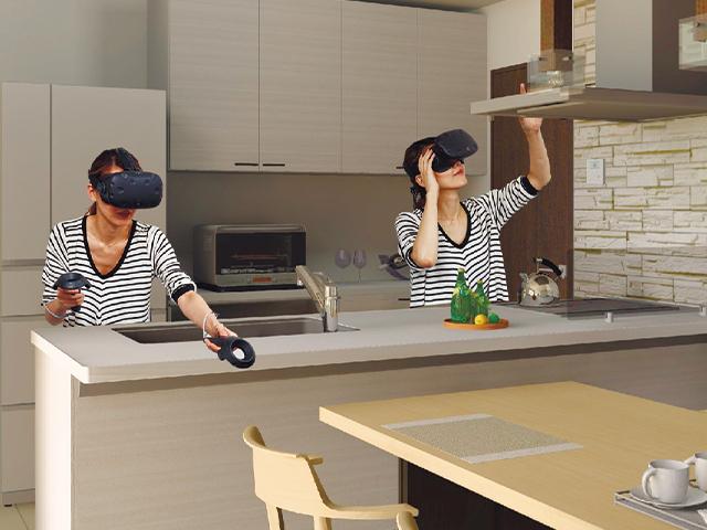 VR体験イメージです。  こんにちは